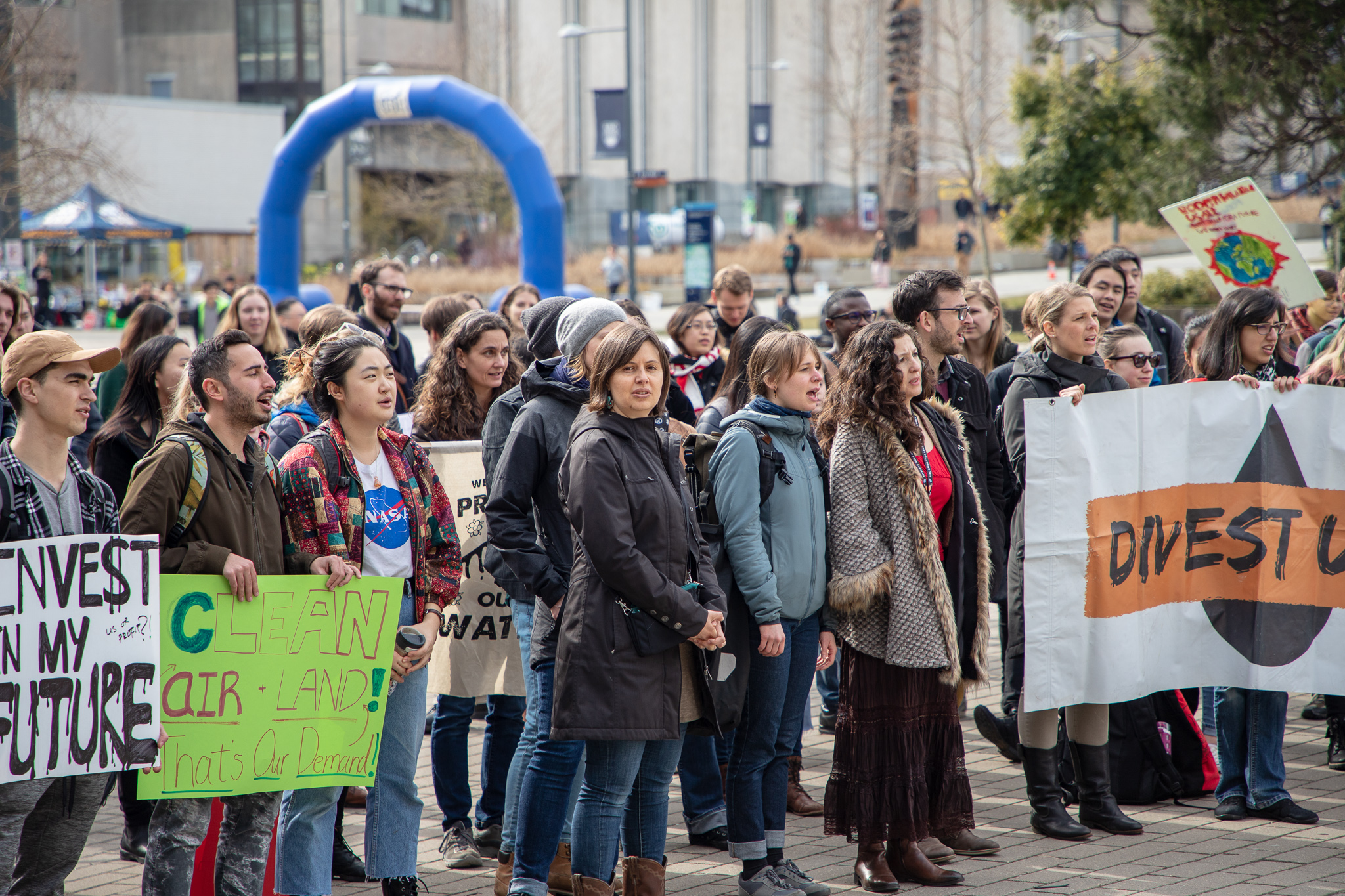 """What's going on on campus feels like it's not connected to what's going on in the world."""