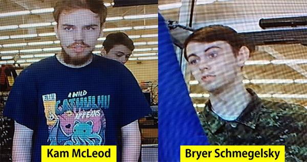 Schmegelsky and McLeod were last seen in Meadow Lake, Saskatchewan on Sunday, July 21.