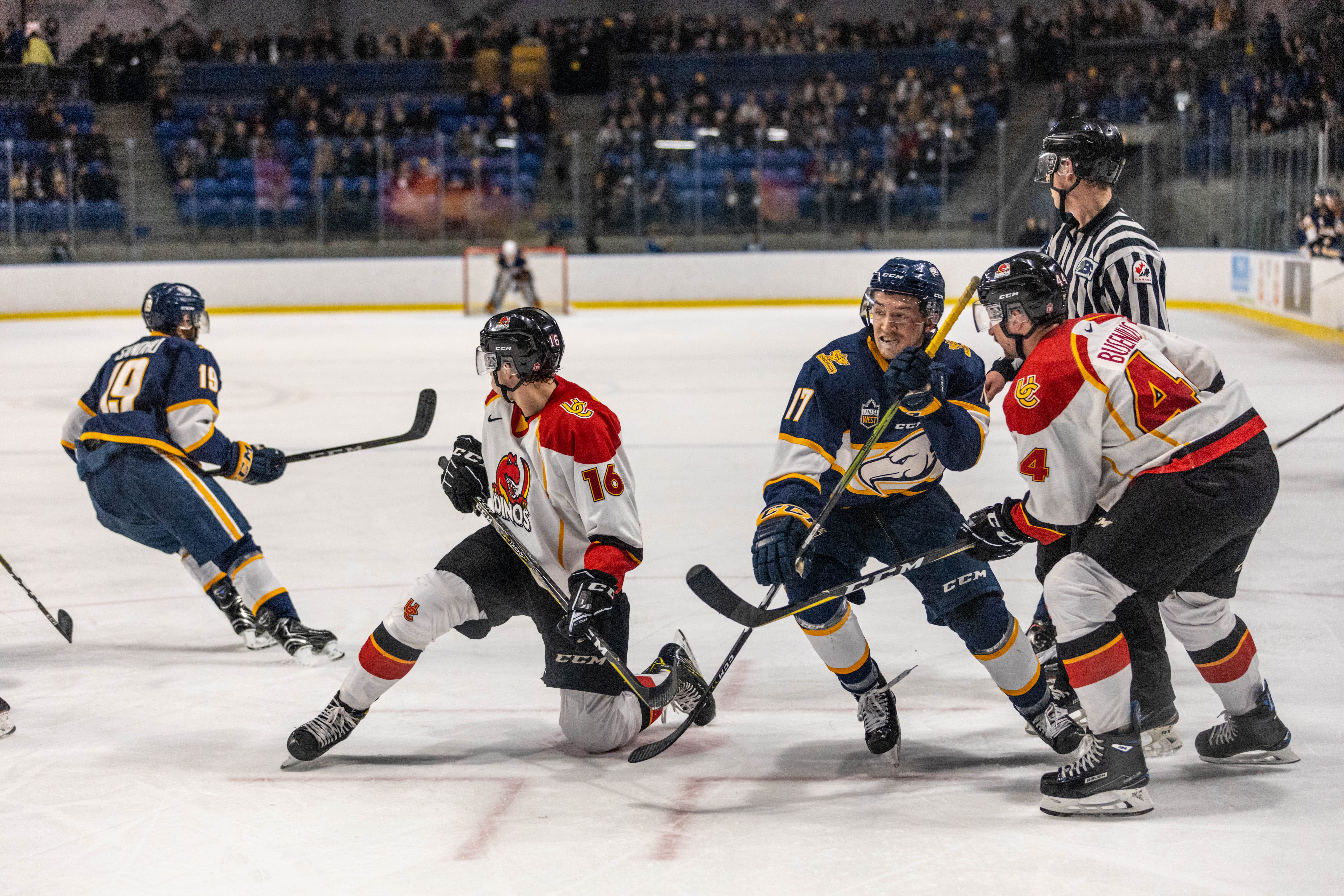 A weekend series against the Wisconsin Badgers is bound to be a clash of titans of North American collegiate ice hockey.
