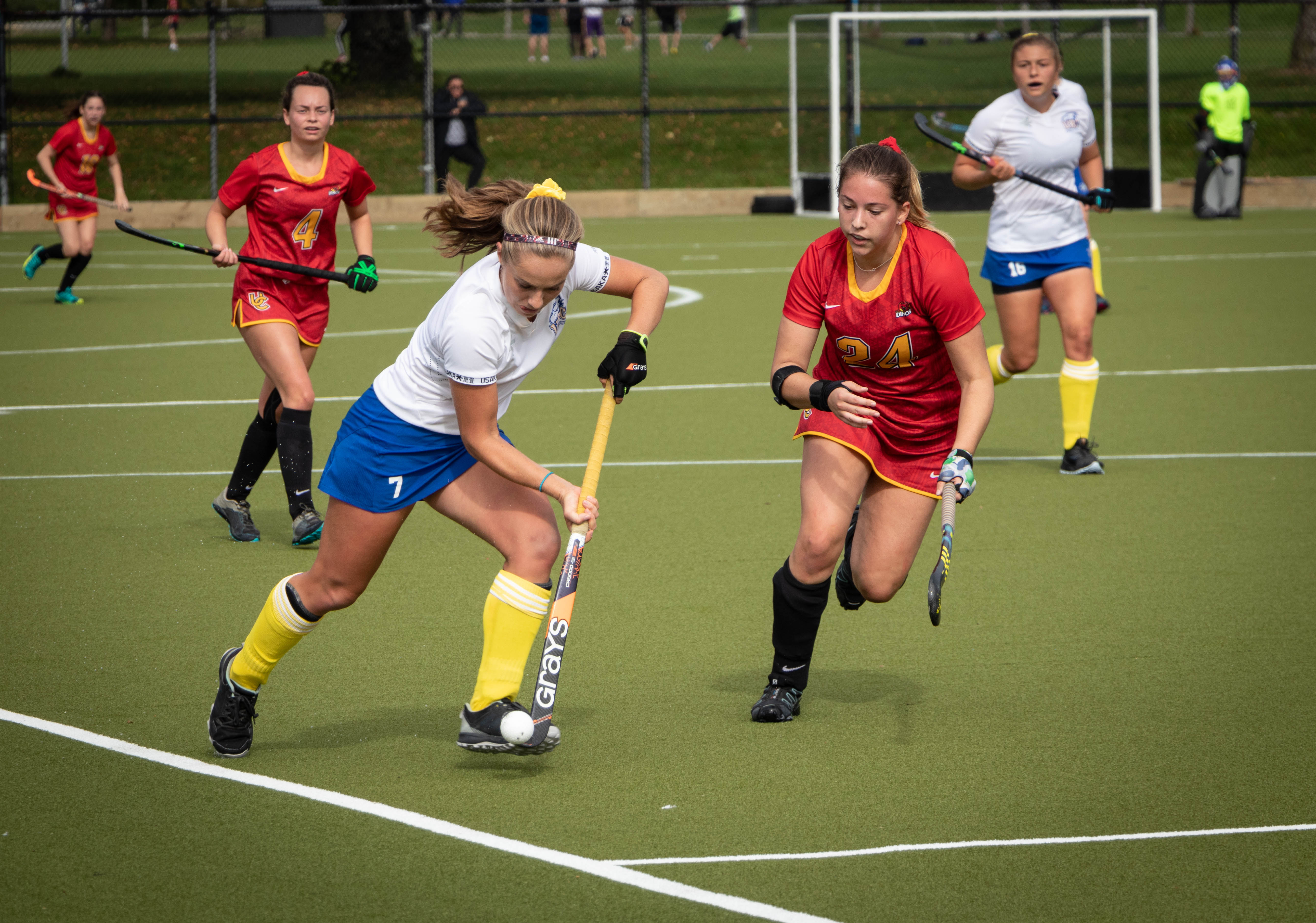 The women's field hockey team will need to break their string of draws against the Vikes in two weeks.