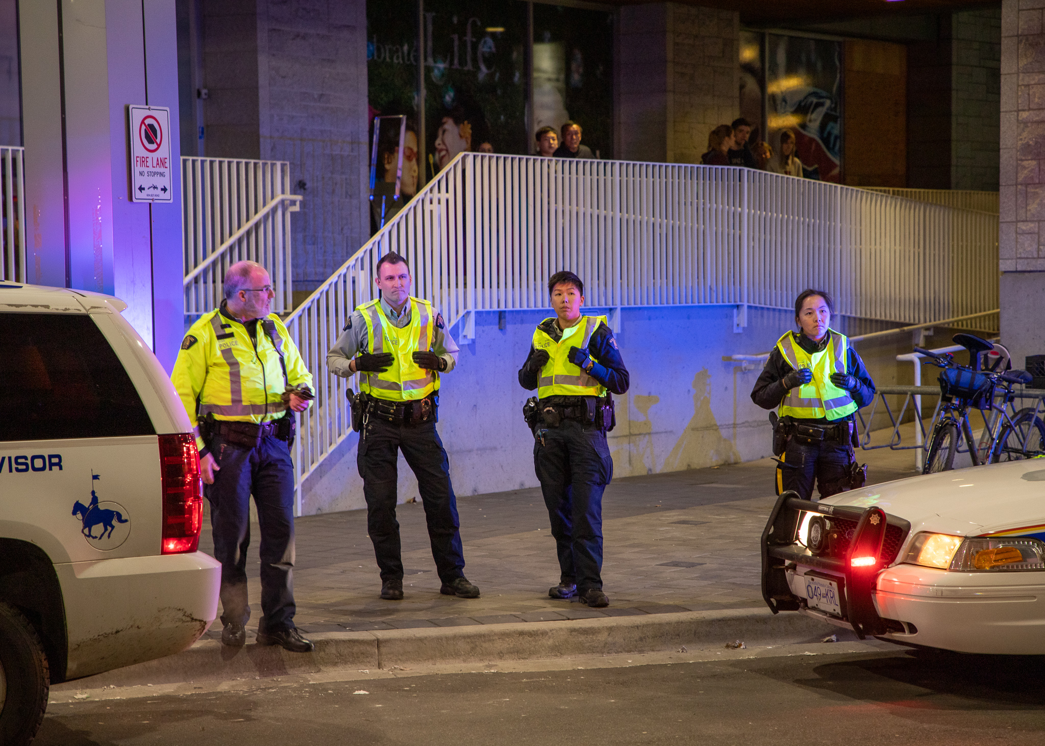 """""""University RCMP had sufficient resources on hand to ensure the safety and security of both attendees and demonstrators."""""""