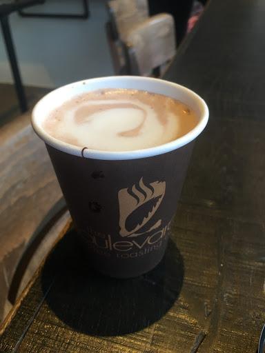 Boulevard Coffee hot chocolate