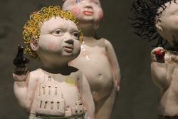 Creepy ceramics dolls MoA