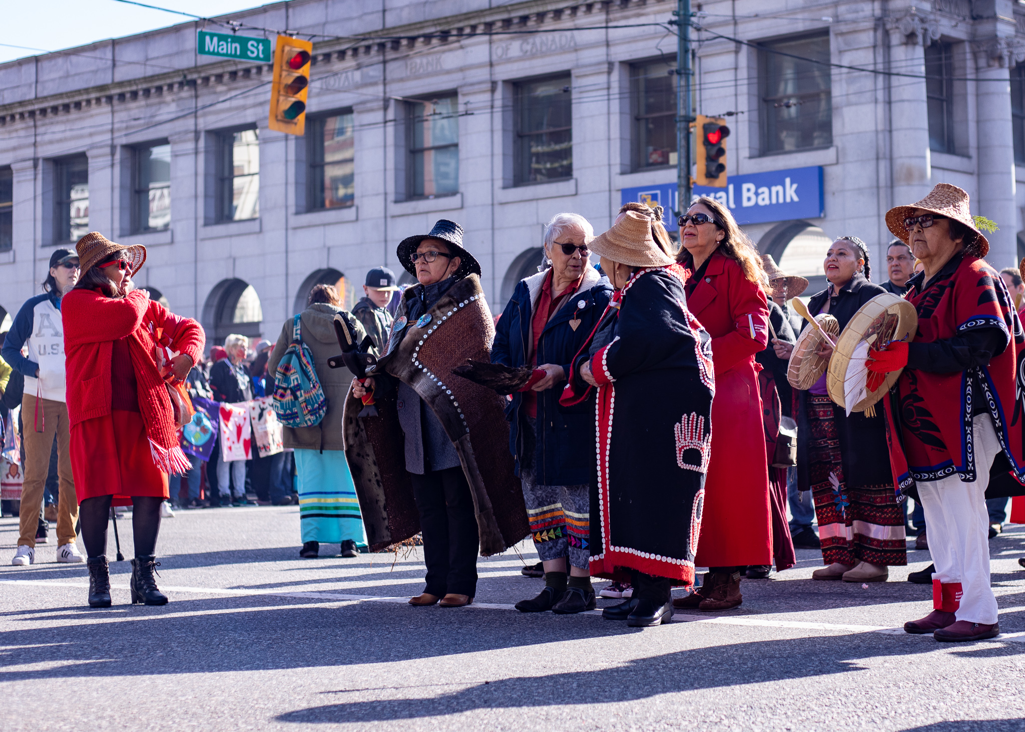 This was the first march that took place since the release of the 'National Inquiry Into Missing and Murdered Indigenous Women and Girls.'