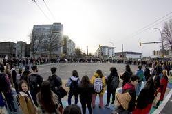 200304 wetsuweten student walkout diego lozano