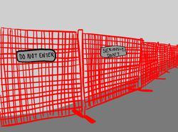 construction fences by sam smart