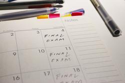 Exam scheduling