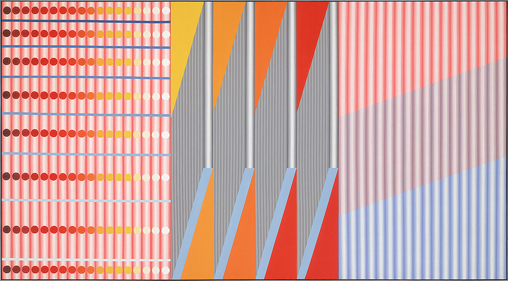 Michael Morris, Untitled, 1967, acrylic on canvas, Collection of the Vancouver Art Gallery, Gift of Mr. Alfred Blundell,
