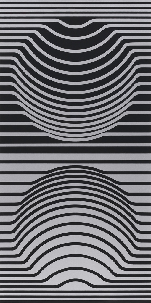 Victor Vasarely Constellations (Sir Ris), 1967 screenprint on paper Collection of the Vancouver Art Gallery Murrin Estate Funds © Estate of Victor Vasarely/ SOCAN (2020)