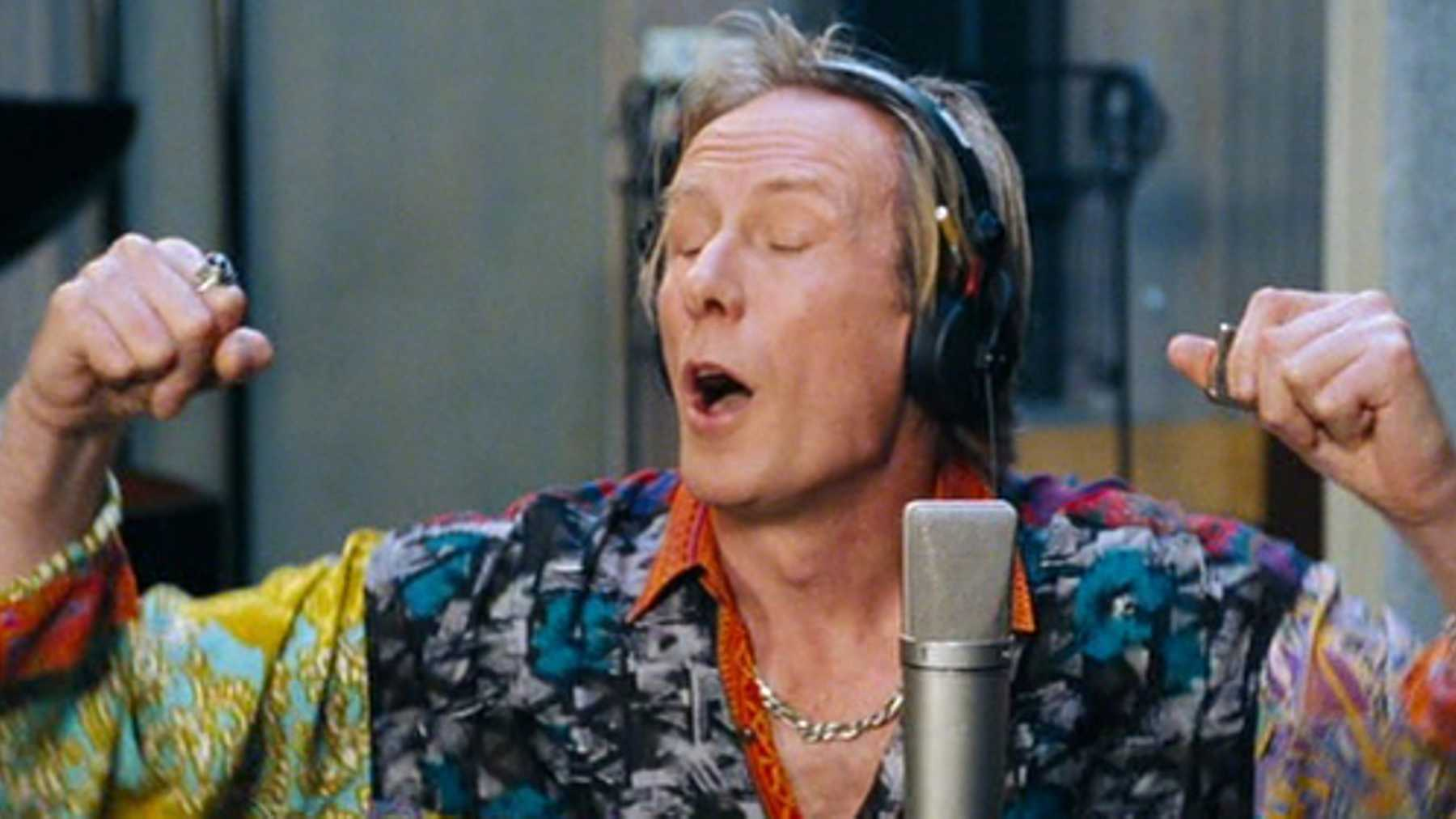 Bill Nighy is hilarious as Billy Mack.