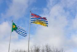 vancouver BC flags