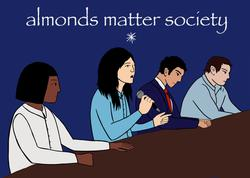 almonds matter society election nice mag