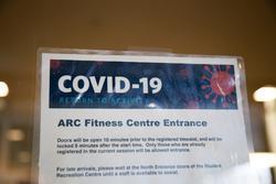 COVID-19 ARC Fitness Centre
