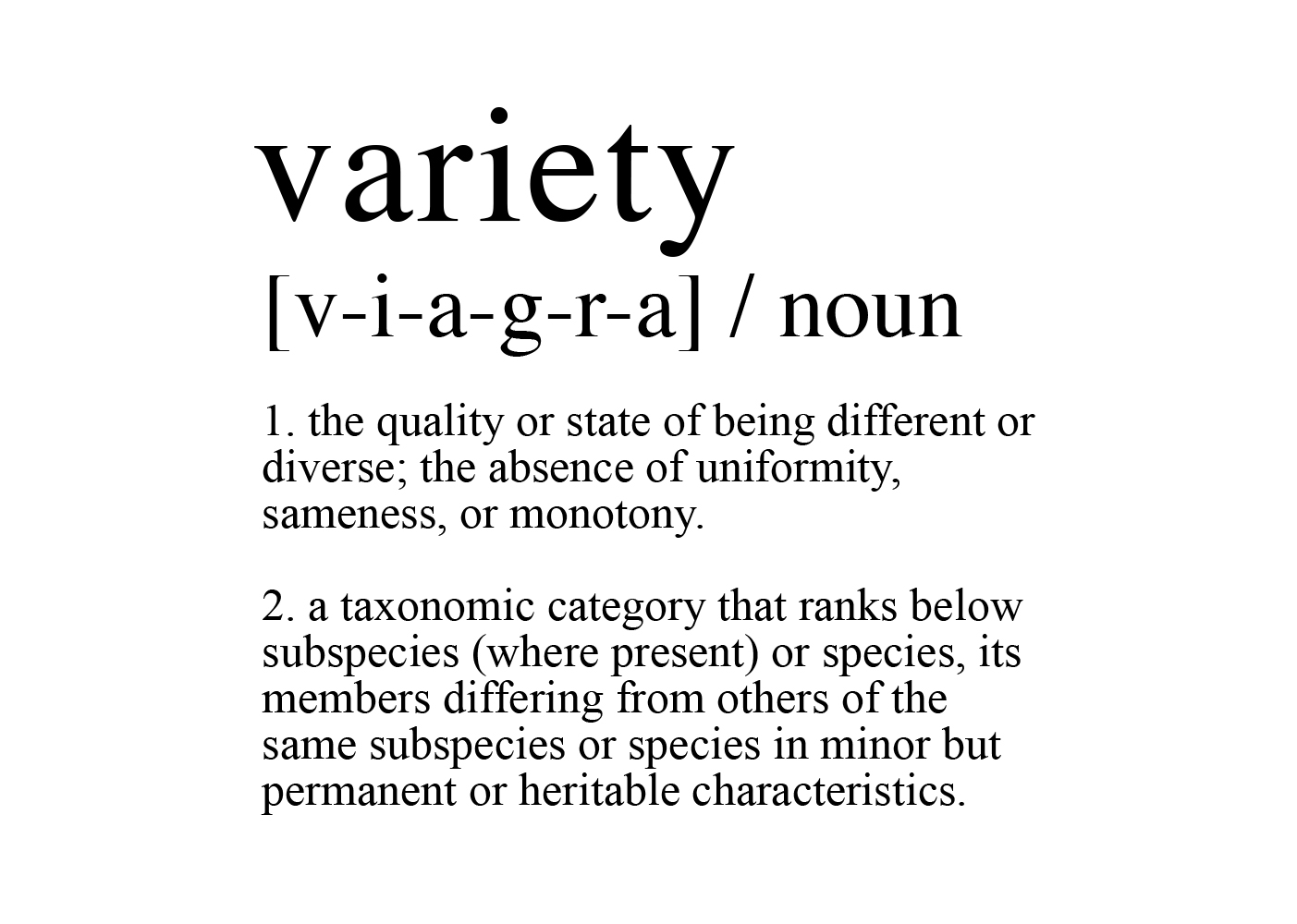 A CVC video featured an Asian man confusing the words 'variety'.