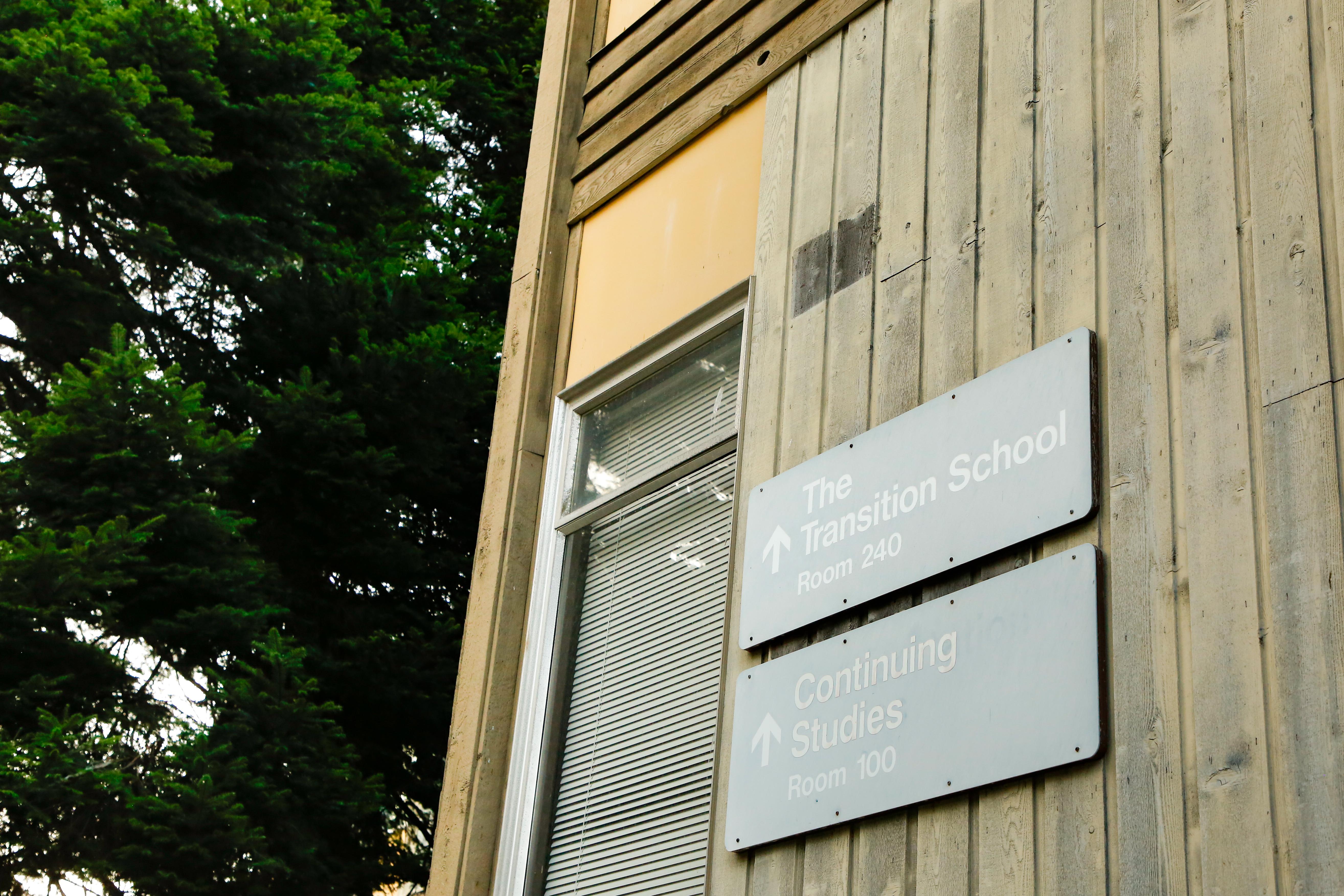 UTP's building on campus.