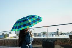 Umbrella on a sunny day