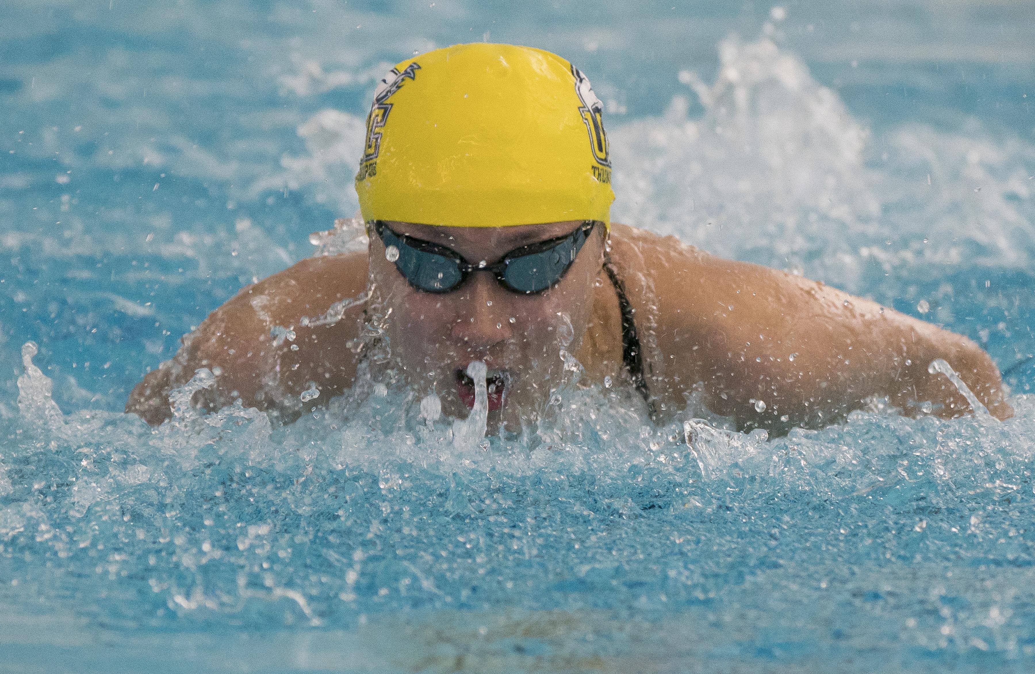 Hoi Lam Karen Tam represented Hong Kong in the pool at Tokyo.