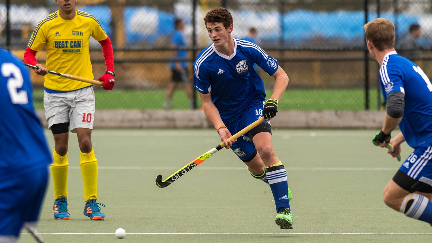 13 of the 16 athletes on Canada's Men's Field Hockey team at the Tokyo Olympics are T-Birds.