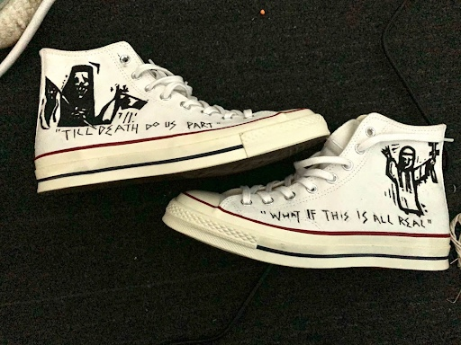 Converse design by Ryan Yip, inspired by tarot.