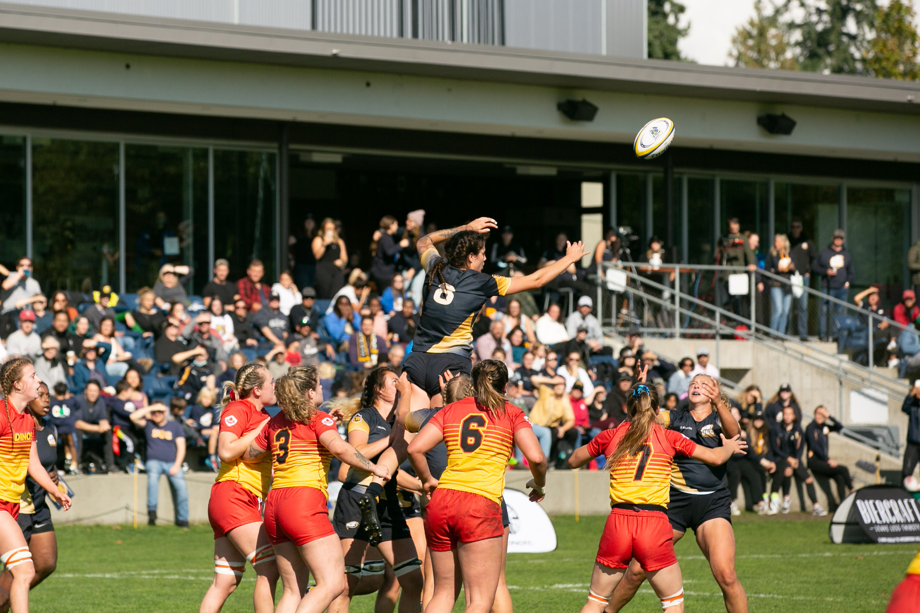 The rugby squad is back in action on October 14, taking on the University of Lethbridge Pronghorns at home.