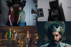 Horror movie collage