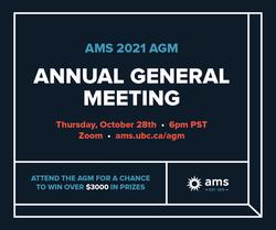 2021 AMS AGM ad
